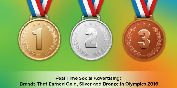 Real Time Social Advertising: Brands That Earned Gold, Silver and Bronze in the 2016 Olympics