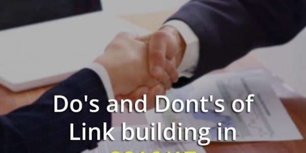 Do's and Dont's For Link Building Strategies