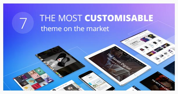 The 7 – The Most Customizable WordPress Theme