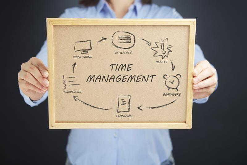 YOU Must Hone Your Time-Management Skills