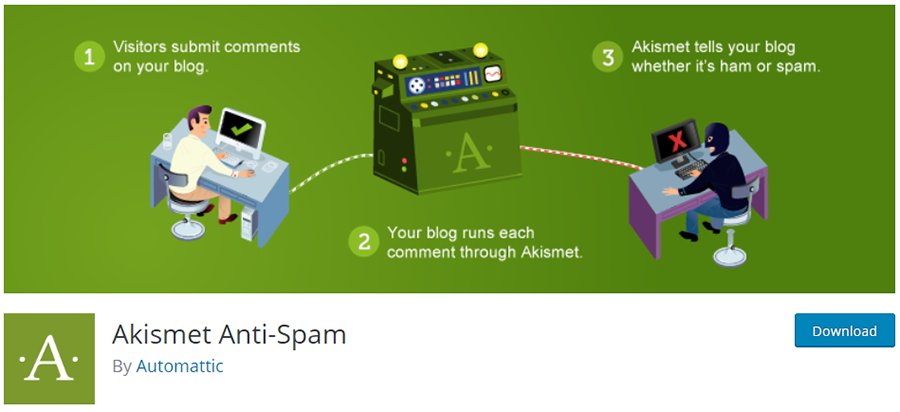 Akismet - Protect your blog from spam